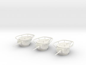 PV66D BT-7 Radio Turret (3) (1/48) in White Natural Versatile Plastic