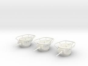 PV66D BT-7 Radio Turret (3) (1/48) in White Natural Versatile Plastic
