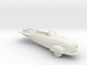 BG Rocket Scooter V1 1:160 Scale in White Natural Versatile Plastic