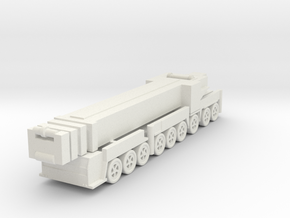 Liebherr LTM 1750-9.1 1/200 in White Natural Versatile Plastic