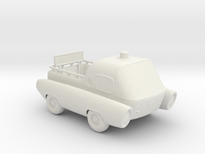 BG Space Port Follow me truck !:160 Scale in White Natural Versatile Plastic