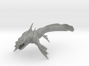 Sea Dragon kaiju monster miniature games 98mm rpg in Gray PA12