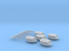 Florida Class Turret Set 1/350 in Smoothest Fine Detail Plastic