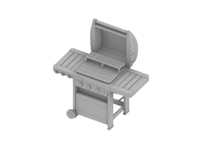 Barbecue 01.1:48 Scale (O) in Smooth Fine Detail Plastic