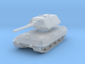 E 100 Maus 128mm (side skirts) 1/220 in Smooth Fine Detail Plastic