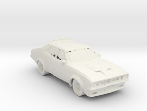 BG Ford Falcon XB Beater 1:160 Scale in White Natural Versatile Plastic