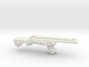 Automatic Assault Rifle AK in White Natural Versatile Plastic