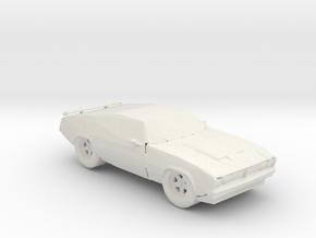 BG Ford Falcon XB V2 1:160 Scale in White Natural Versatile Plastic
