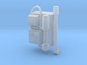 Star Wars Battlefront Backpack Shocktrooper in Smooth Fine Detail Plastic