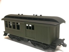 Sierra Railway combine 5 (Ho Scale) in Smooth Fine Detail Plastic