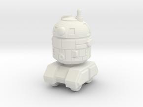Astrobot 1 in White Natural Versatile Plastic