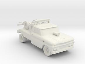 70's Repo wrecker 1:160 Scale in White Natural Versatile Plastic
