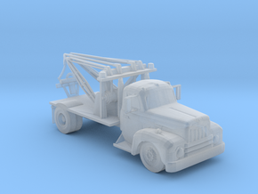 International Tow Truck 1:160 Scale in Smooth Fine Detail Plastic