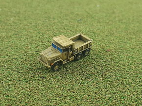 US M929 Dump Truck 1/285 in Smooth Fine Detail Plastic