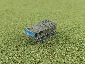 M6 High Speed Tractor 1/285 in Smooth Fine Detail Plastic