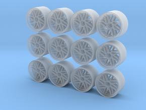 Leon Hardiritt Geist rims for Hot Wheels in Smooth Fine Detail Plastic