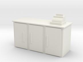 Shop Cash Counter 1/24 in White Natural Versatile Plastic