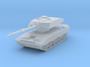Challenger 2 MBT 1/220 in Smooth Fine Detail Plastic