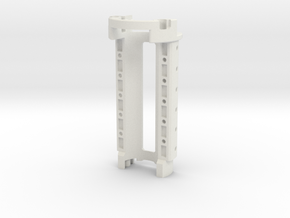 Graflex GMM Chassis - Part16 - Power Cell Holder in White Natural Versatile Plastic