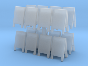 Advertising Board (x16) 1/120 in Smooth Fine Detail Plastic