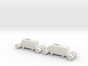 1/100 German Generator trailor in White Natural Versatile Plastic