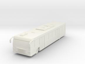 Airport Bus 1/100 in White Natural Versatile Plastic
