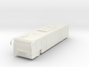 Airport Bus 1/120 in White Natural Versatile Plastic