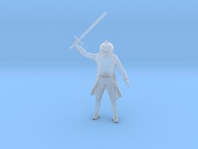 Headless Horseman miniature fantasy games DnD rpg  in Smooth Fine Detail Plastic