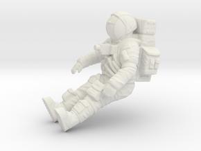 Apollo Lunar Rover Astronaut 1:48 in White Natural Versatile Plastic