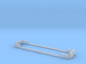 Scala N - FS E632-E633-E652 Finestrini in Smooth Fine Detail Plastic