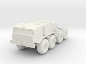 MAZ-537 Truck 1/56 in White Natural Versatile Plastic
