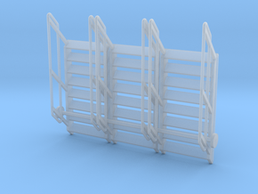 1:64 3x Stairs 8 in Smooth Fine Detail Plastic