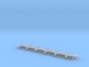 T-2 Buckeye w/Gear x12 (CW) in Smooth Fine Detail Plastic: 1:700