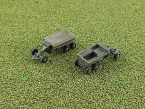 M23 Ammo Trailer 1/285 in Smooth Fine Detail Plastic