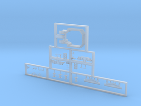 Scala N - FS E636 e E645-E646 prima serie dettagli in Smooth Fine Detail Plastic