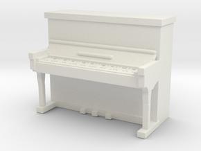 Piano 1/64 in White Natural Versatile Plastic