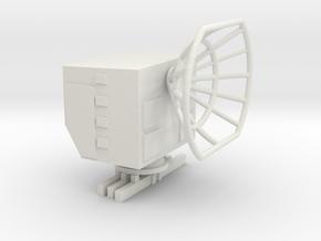 1/144 German Radar station Fumo 27  in White Natural Versatile Plastic