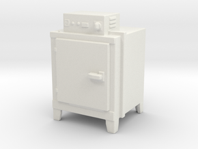 Hot Air Oven 1/48 in White Natural Versatile Plastic