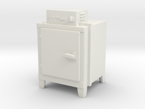 Hot Air Oven 1/43 in White Natural Versatile Plastic