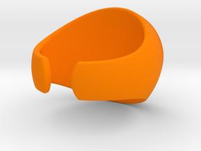 Hercules Open 10 in Orange Processed Versatile Plastic
