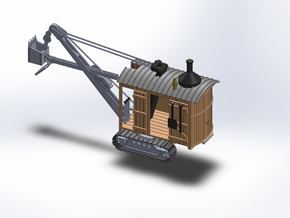 N 1920 STEAM SHOVEL in Smooth Fine Detail Plastic