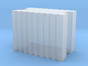 Brick 5.9x3.5x4.5mm in Smooth Fine Detail Plastic