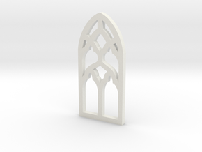 Window One in White Natural Versatile Plastic
