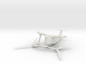 (1:144) Focke Achgelis Fa.284 in White Natural Versatile Plastic