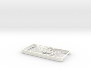 Berlin S-Bahn/U-Bahn map iPhone 5s case in White Processed Versatile Plastic