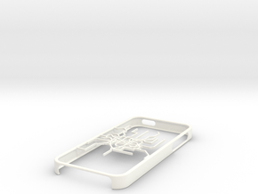 Shanghai Metro map iPhone 5s case in White Processed Versatile Plastic