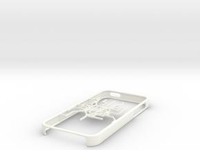Shanghai Metro map iPhone 5s case in White Processed Versatile Plastic