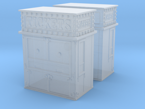 Carnival Ticket Booth (x2) 1/200 in Smooth Fine Detail Plastic