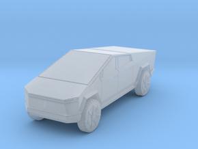Tesla Cybertruck 1/160 in Smooth Fine Detail Plastic