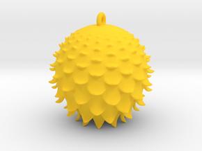 Thistle Ball in Yellow Processed Versatile Plastic